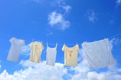 冬服の洗濯