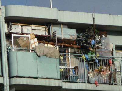 マンション住みのゴミ屋敷