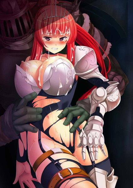 白濁の姫騎士のCGエロ画像1