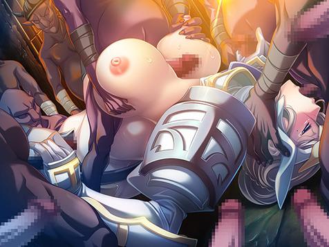 黒獣・改 ~気高き聖女は白濁に染まる~のCGエロ画像10