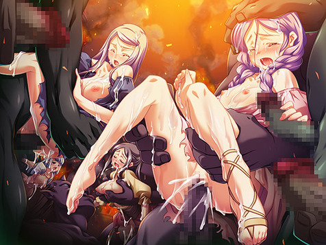 黒獣・改 ~気高き聖女は白濁に染まる~のCGエロ画像12