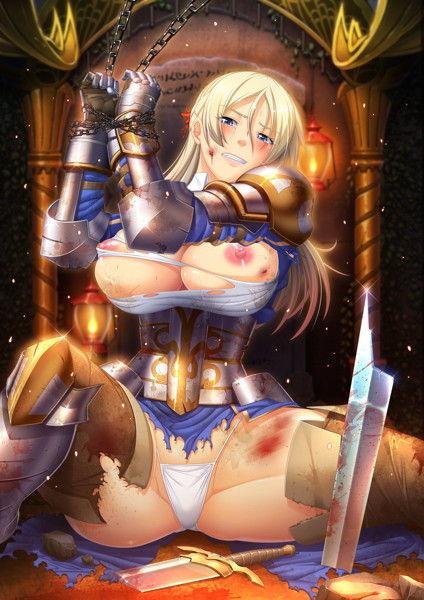 恥辱の女騎士 廉価版のCGエロ画像1