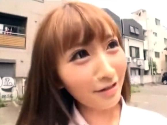 超可愛い美少女JK