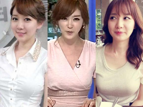 韓国の女子アナ