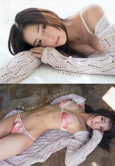 石川恋のグラビア画像003