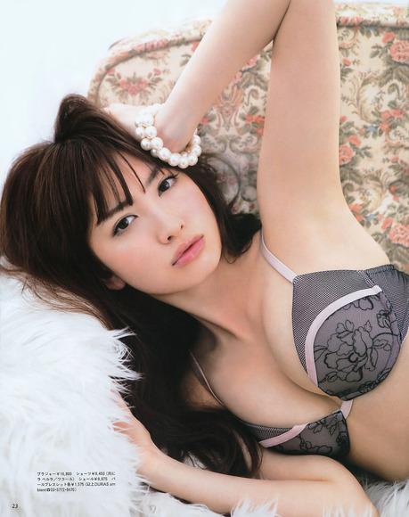 大島優子と小嶋陽菜のan・an画像020