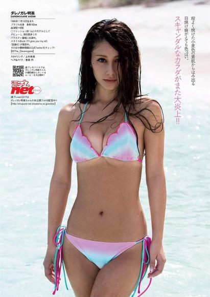 ダレノガレ明美の水着グラビア画像007