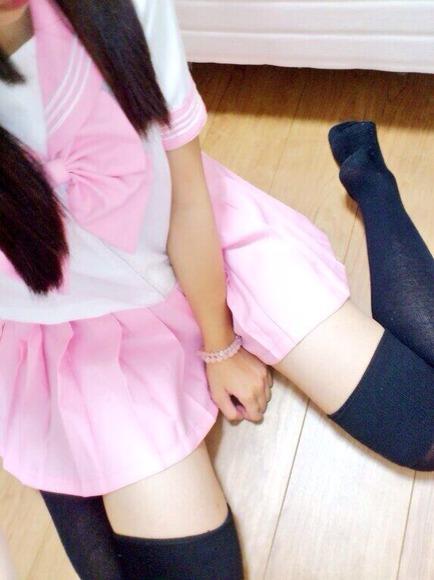 スカートと綺麗な脚032