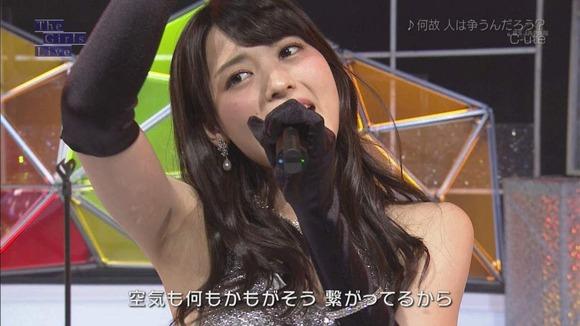 ℃-ute矢島舞美の脇フェチ画像005