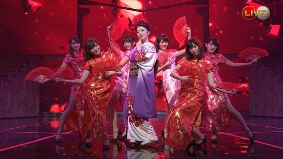 乃木坂46のチャイナドレス画像016