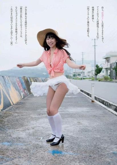 長澤茉里奈の水着画像039