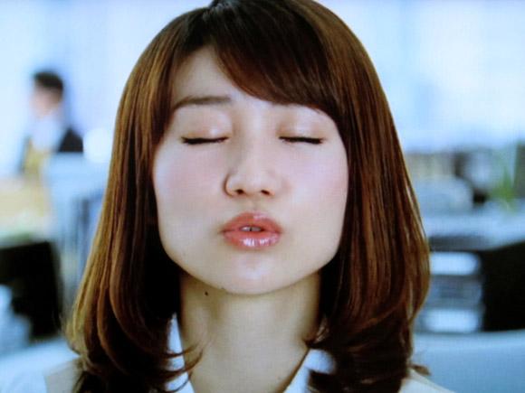 大島優子のキス顔