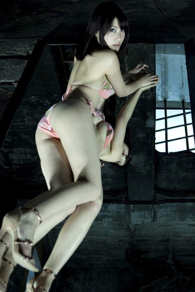岸明日香×鏡006