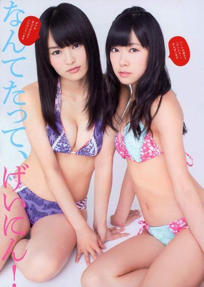 山本彩と渡辺美優紀のコラボ画像041
