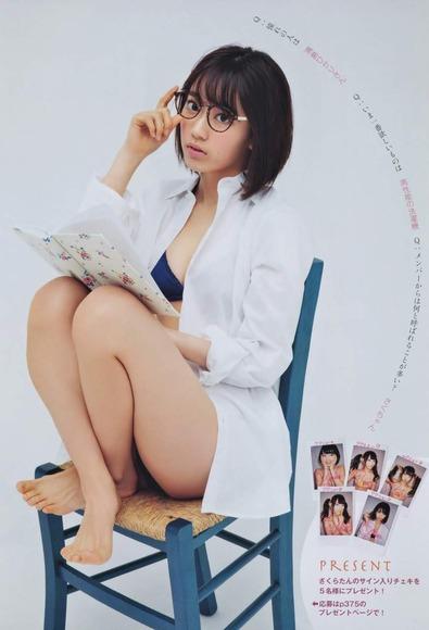 HKT宮脇咲良のグラビア画像055