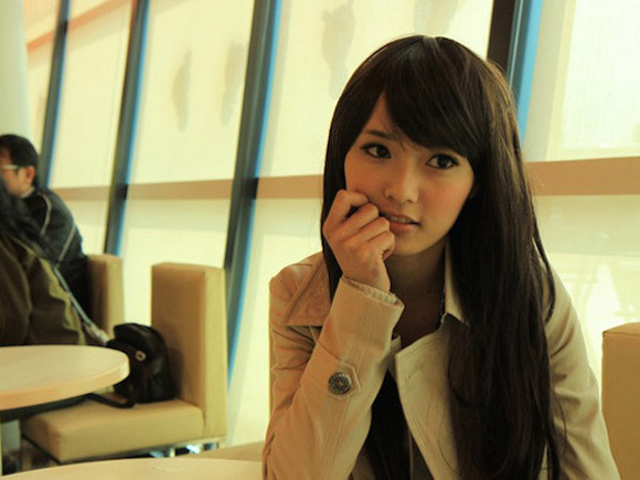 謎の台湾美女