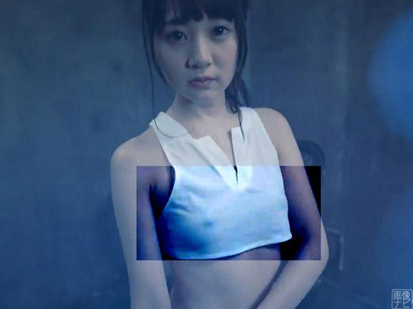 若さを保ちつつ乳首を晒してくれた浜田翔子