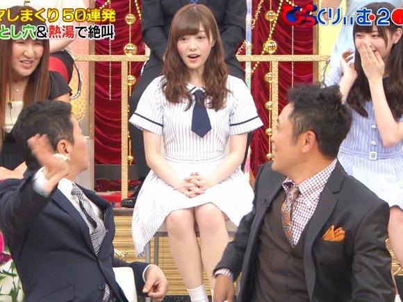 乃木坂46・白石麻衣が大胆パンチラ!お股が緩すぎる・・・