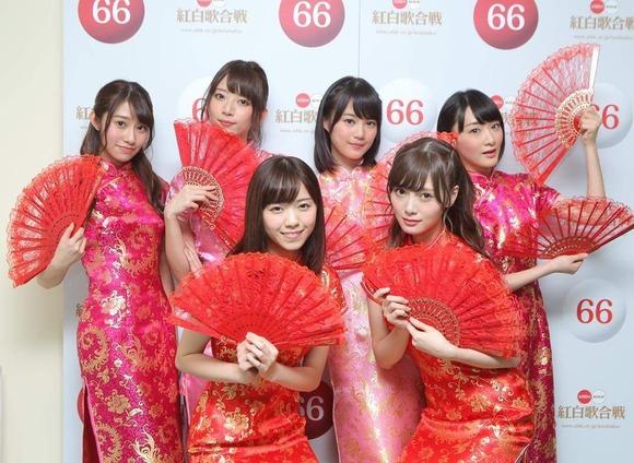 乃木坂46のチャイナドレス画像017