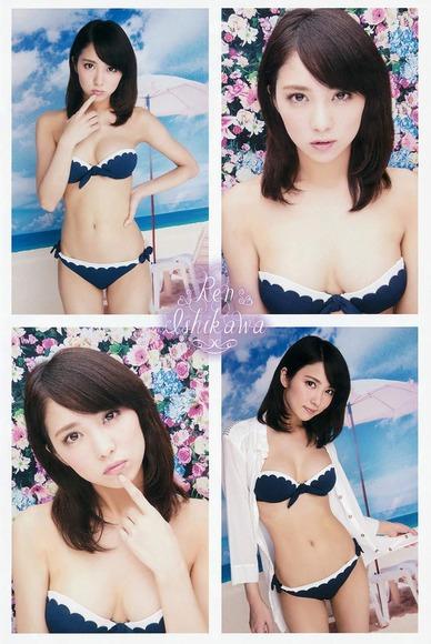 石川恋のグラビア画像048