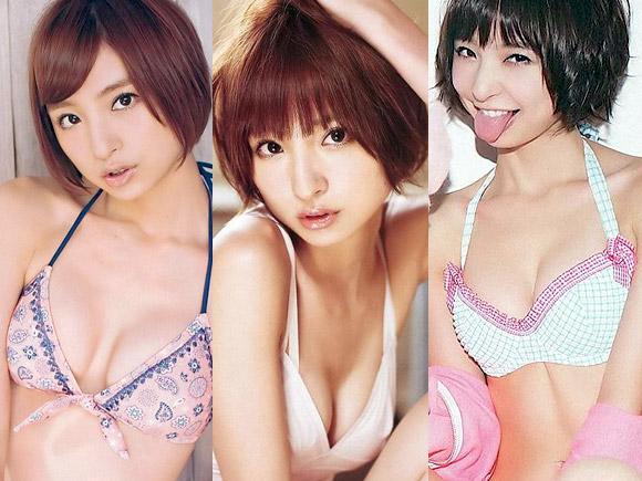 【元AKB】篠田麻里子のBカップおっぱい画像wwwww