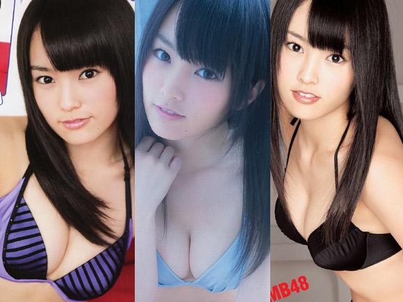 NMB山本彩(20)がまだ長髪だった頃の水着・グラビアまとめ!画像×57