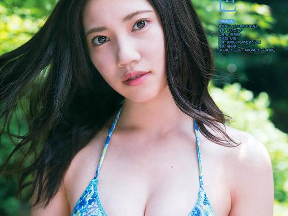 SKE48 2017年夏の水着グラビア