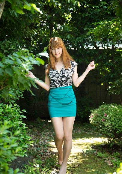 スカートと綺麗な脚006