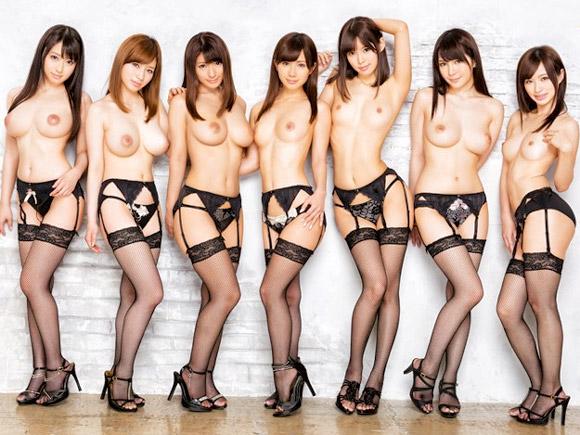 【エロ動画】日替わりでハメ放題!美人7姉妹と夢のようなハーレム共同生活(*゚∀゚)=3