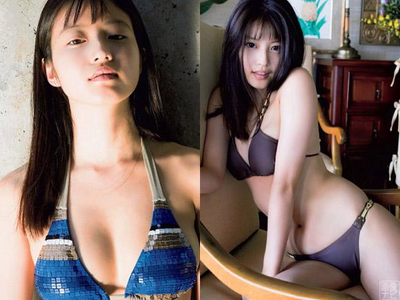 今田美桜 スッピンで水着グラビア