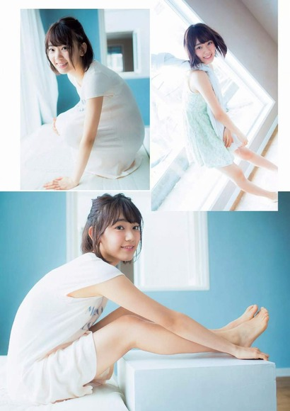 HKT宮脇咲良のグラビア画像010