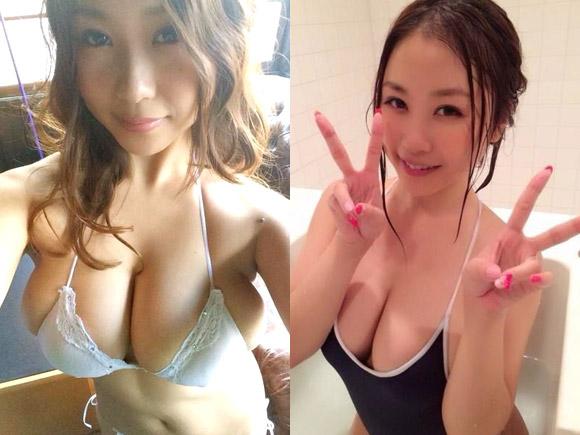 西田麻衣のエロ写メ