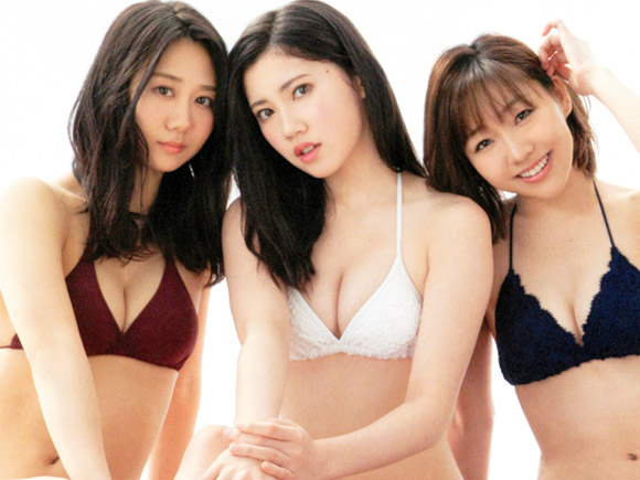 16歳の頃は胸が小さい方の部類だったはずの北川綾巴。SKE随一の最強美少女との呼び声も高い次世代エースの胸が2年間で急激に大きくなって美巨乳ボディーへ驚異の大変身