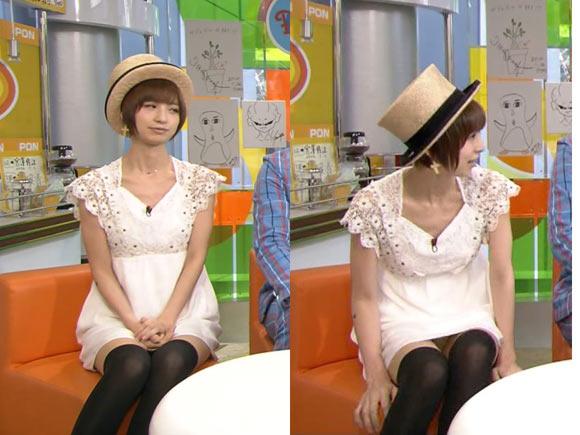 篠田麻里子のパンチラ画像