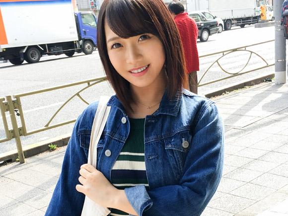 彼氏以外とエッチ経験なし…品川駅周辺で18歳美少女JDをナンパ。