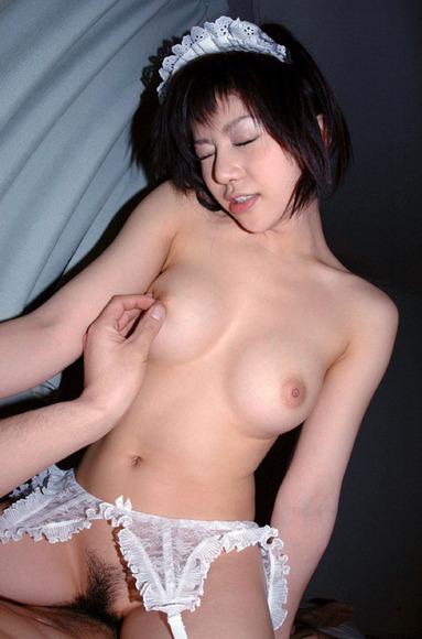 美乳美女のアヘ顔セックス画像032