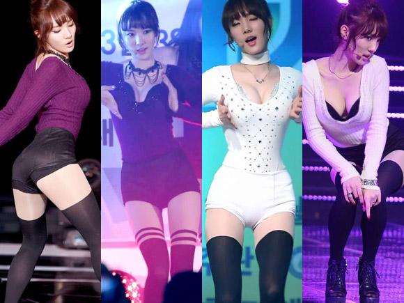 韓流の巨乳アイドル