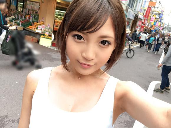 どことなく篠田麻里子に雰囲気が似ているショートヘアJD。学芸大学でナンパしてハメ撮りしちゃいます