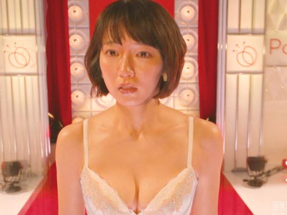 吉岡里帆がドラマでブラジャー姿に!美巨乳に視聴者大興奮