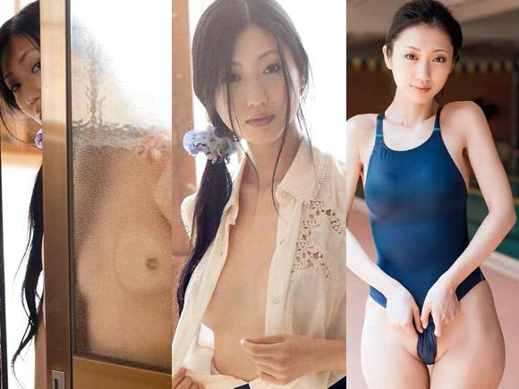 【エロ魔人】乳首を隠す気が全くない壇蜜先生のエロ画像×22 ※競泳水着もあるよ!