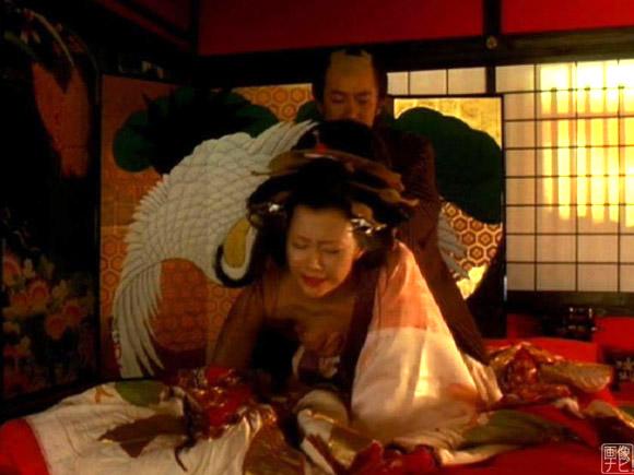 映画「さくらん」で過激なセックスシーンを演じた木村佳乃さん