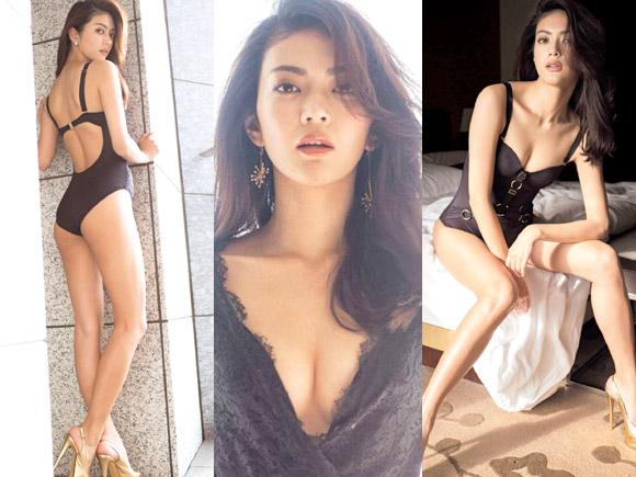 田中道子(28) 魔性の9頭身美人女優。