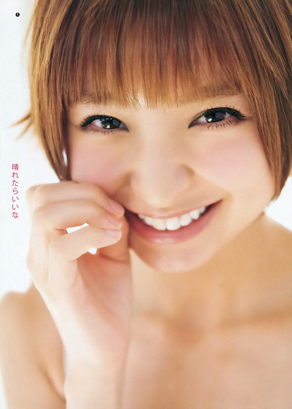 篠田麻里子の舌フェチな擬似フェラ画像007