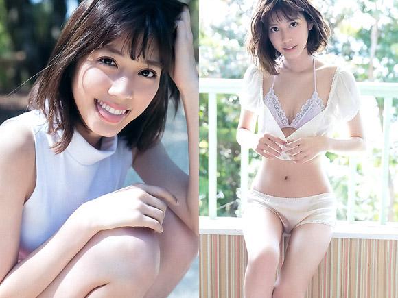 女優として成功しつつある松田るか。本業とグラビアで見せるセクシーな表情とのギャップに視線が釘付け!