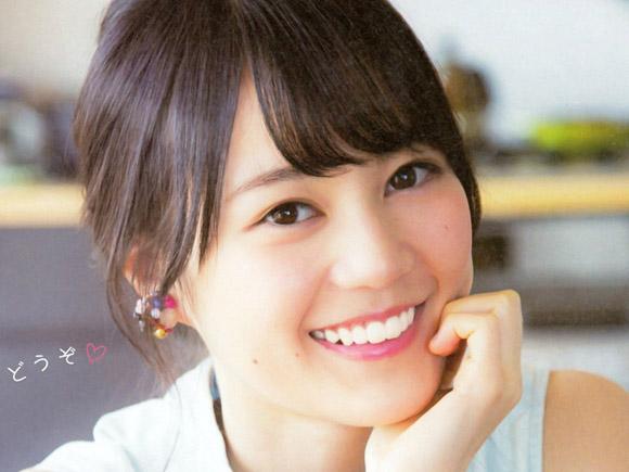 清楚を売りにする乃木坂の中でも超正統派。笑顔が愛らしい生田絵梨花