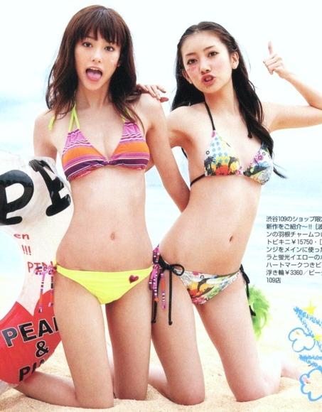 美女オンザビーチ014