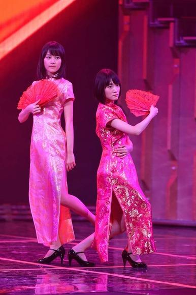 乃木坂46のチャイナドレス画像009