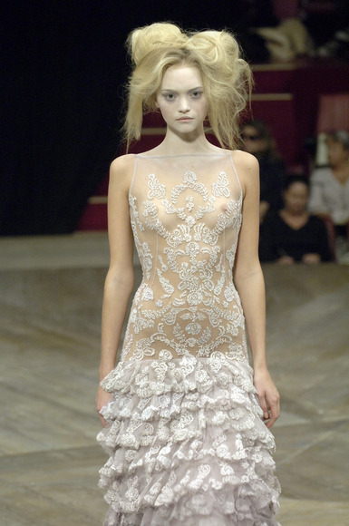 スーパーモデルの乳首チラ027