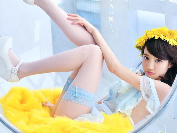 アイドリング!!!が誇る超絶美少女 石田佳蓮(18)の水着画像×22