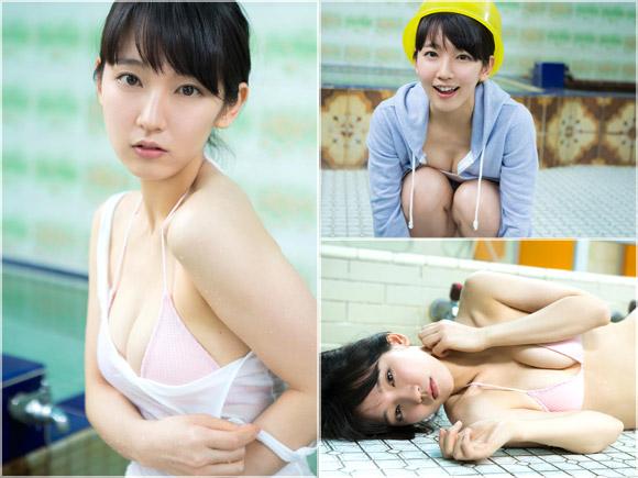 吉岡里帆(22) 銭湯で濡れる贅沢なカラダ。画像×25